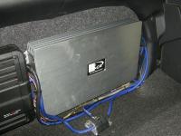 Установка усилителя Kicx QS 1.600 в Toyota Camry V40
