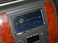 Фотография установки магнитолы Alpine ICS-X8 в Chevrolet Tahoe III