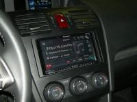 Фотография установки магнитолы Pioneer AVH-X8600BT в Subaru Forester (SJ)