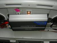 Установка усилителя Art Sound XE 754 в Toyota Corolla X
