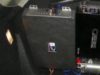 Установка усилителя Kicx QS 1.600 в Citroen C4