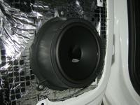 Установка акустики Hertz DSK 165.3 в Citroen Berlingo