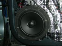 Установка акустики Morel Tempo Coax 6 в Skoda Octavia (A5)