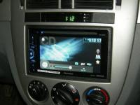 Фотография установки магнитолы Pioneer AVH-X1600DVD в Chevrolet Lacetti