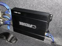 Установка усилителя Audio System CO 650.1 в Toyota Hilux