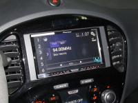 Фотография установки магнитолы Pioneer AVH-X8600BT в Nissan Juke