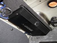 Установка усилителя Audio System M 80.4 в Audi A4 (B7)