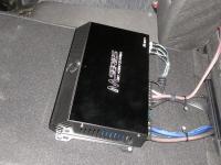 Установка усилителя Audio System M 80.4 в KIA Ceed II (JD)
