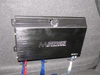 Установка усилителя Audio System M 80.4 в KIA Cerato II (TD)