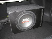 Установка сабвуфера MTX RT12-04 vented box в KIA Cerato II (TD)