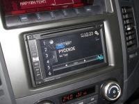 Фотография установки магнитолы Pioneer AVIC-F960BT в Mitsubishi Pajero IV