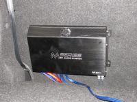 Установка усилителя Audio System M 80.4 в Nissan Qashqai