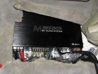 Установка усилителя Audio System M 80.4 в Toyota Land Cruiser 100