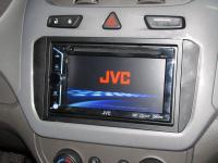 Фотография установки магнитолы JVC KW-V10EE в Chevrolet Cobalt