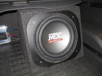 Установка сабвуфера MTX RT12-04 box в Opel Antara