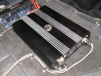 Установка усилителя DLS MA41 в Honda Civic 5D