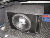 Установка сабвуфера JBL GT5-12 vented box в Mazda 6 (I)