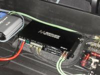 Установка усилителя Audio System M 80.4 в Audi Q7