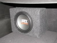 Установка сабвуфера MTX RT10-04 box в KIA Sorento II (XM FL)
