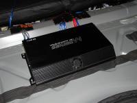 Установка усилителя Audio System M 80.4 в Mazda 6 (III)