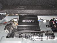Установка усилителя Audio System X 75.4 D в BMW 3 (F30)