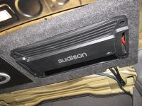 Установка усилителя Audison SR 4 в Chevrolet Epica