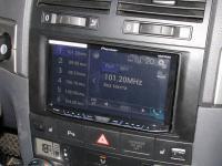 Фотография установки магнитолы Pioneer AVH-X8600BT в Volkswagen Touareg