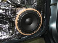 Установка акустики Morel Tempo 6 в Mitsubishi Lancer