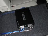 Установка усилителя Audio System CO 95.2 в Mazda 6 (III)