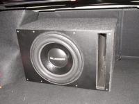 Установка сабвуфера Gladen SQX 12 в Nissan Almera III (G15)