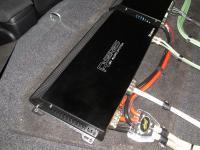 Установка усилителя Audio System R 1250.1 D в Honda Civic 4D