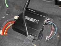 Установка усилителя Audio System X 75.4 D в Subaru Outback (BR)