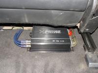 Установка усилителя Audio System X 75.4 D в Hyundai Sonata