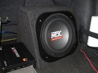 Установка сабвуфера MTX RT12-04 box в Volkswagen Jetta VI