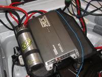 Установка усилителя MTX RT500.1D в Audi A6 (C6)