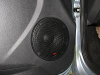 Установка акустики Morel Tempo 6 в Lada Granta Liftback