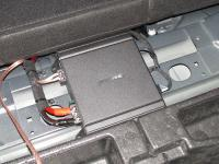 Установка усилителя Alpine MRV-M250 в Opel Insignia