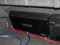 Установка усилителя Audio System R 1250.1 D в Toyota Avalon