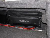Установка усилителя Audison SR 4 в Toyota Avalon