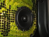 Установка акустики Morel Tempo Coax 6 в Nissan Patrol