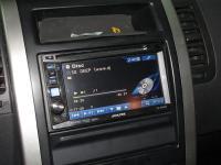 Фотография установки магнитолы Alpine IVE-W530BT в Nissan X-Trail (T31)