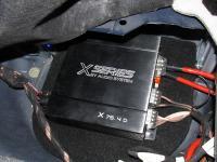 Установка усилителя Audio System X 75.4 D в Mercedes ML (W164)