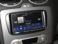 Фотография установки магнитолы Alpine ICS-X8 в Ford Focus 2