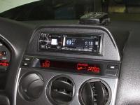 Фотография установки магнитолы Alpine CDE-178BT в Mazda 6 (I)
