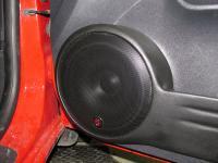 Установка акустики German Maestro ES 8009 в Hyundai Getz