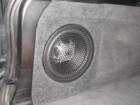 Установка сабвуфера JBL GT5-10 в BMW X5 (E70)