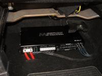 Установка усилителя Audio System M 80.4 в Mitsubishi ASX