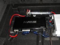 Установка усилителя Audio System M 80.4 в Volvo XC90