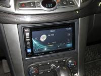Фотография установки магнитолы Alpine IVE-W585BT в Chevrolet Captiva