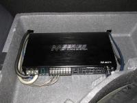 Установка усилителя Audio System M 80.4 в Renault Duster